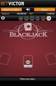 BetVictor Casino Blackjack